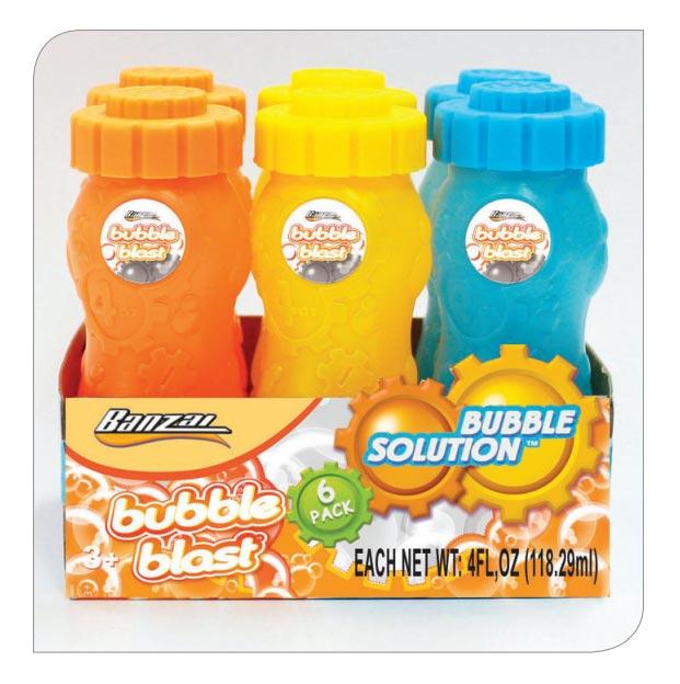 4 Oz Bubble Bottles (6pack)