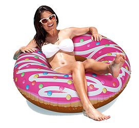 Donut-Swim-Ring