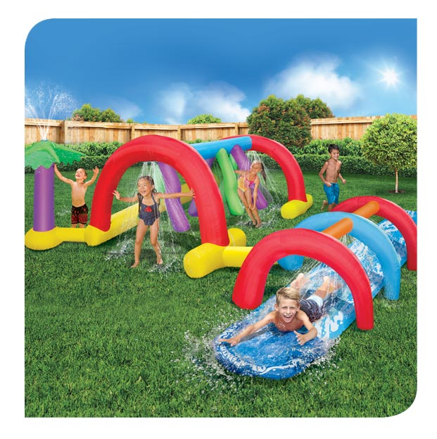 Backyard Adventure Water Park