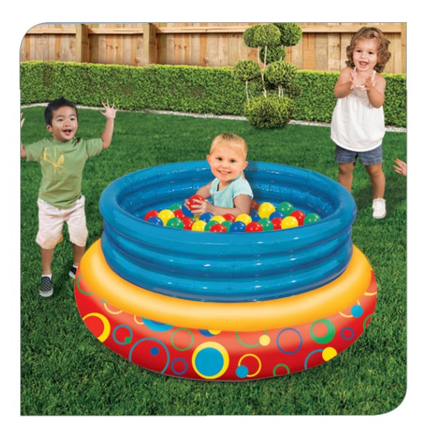 Big Bounce Jumper w/ 100 Soft-touch Balls