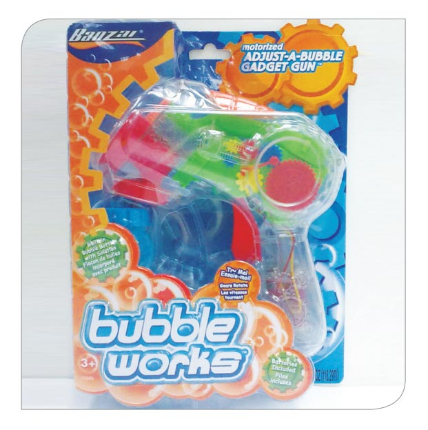 Bubble Gadget Blaster