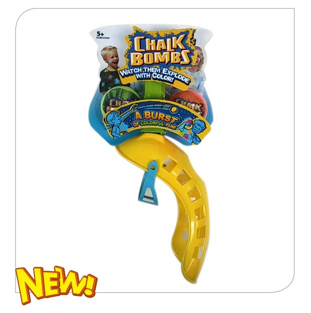 Chalk Bombs Sling Bombs