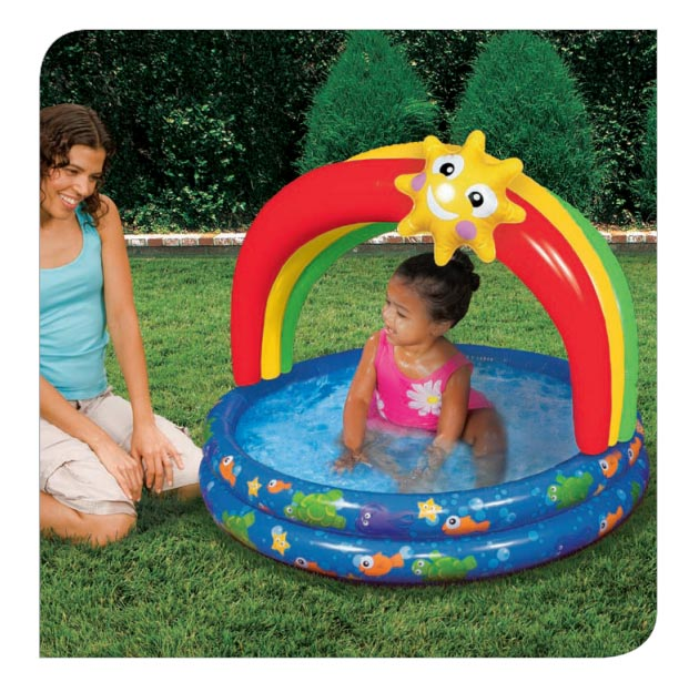 Cozy Car Float Seat Banzai Backyard Fun