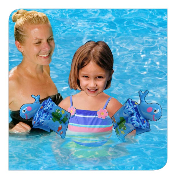 Swim Pal Whale Arm Floats