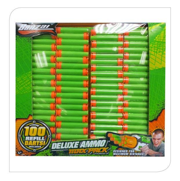 100pcs Foam Dart Refill Pack