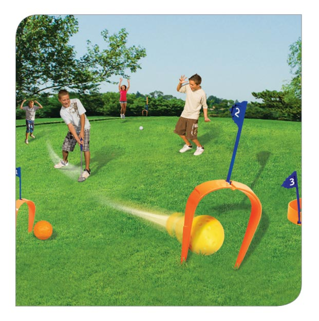 2-in-1 Croquet & Golf Set