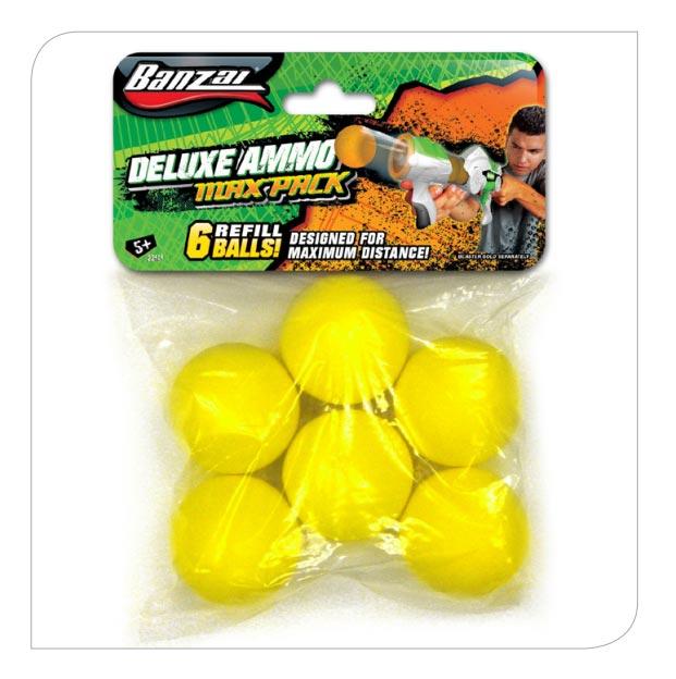 6pcs Foam Ball Refill Pack