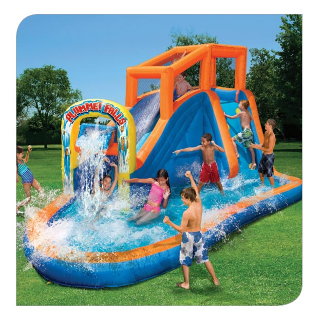 Inflatable Water Slide Az: Plummet Falls Adventure Slide