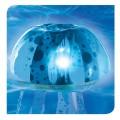 Jelly Fish Bubble Light - Blue