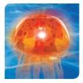Jelly Fish Bubble Light - Orange