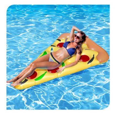 Pizza Pool Lounger