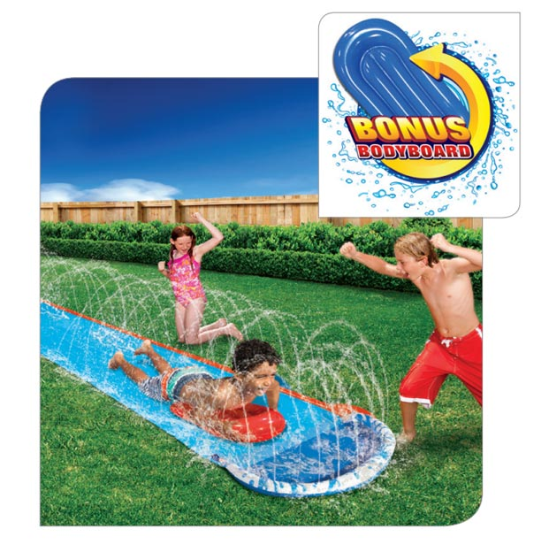 Speed Blast Water Slide W/ Bonus Board