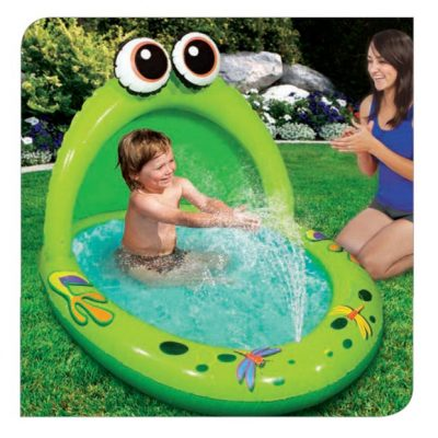 Spray 'n Play Froggy Canopy Pool