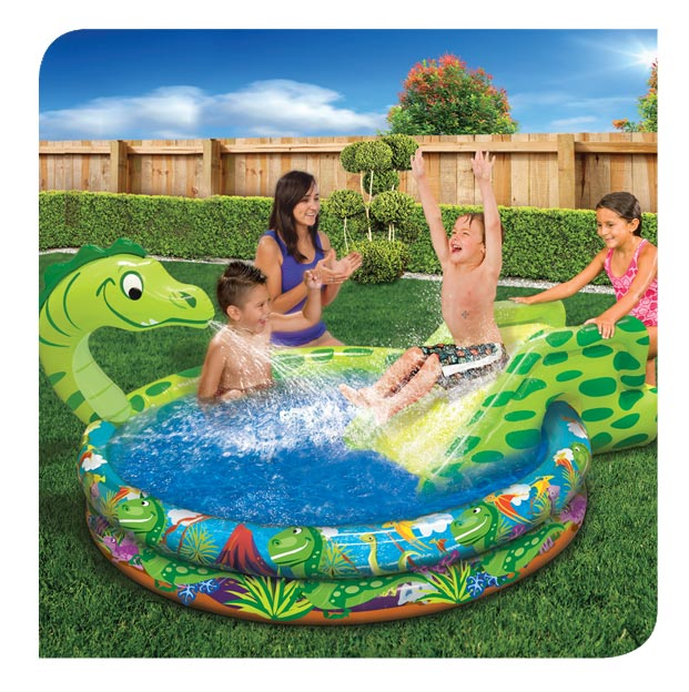 Spray 'n Splash Dino Pool