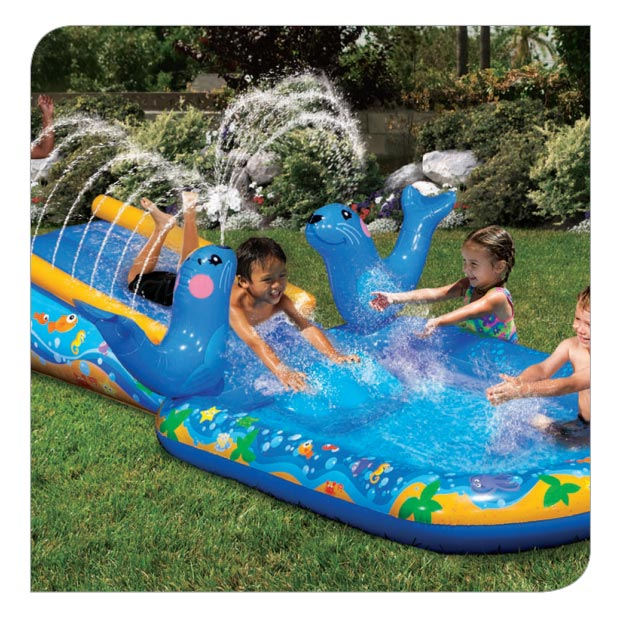 Inflatable Water Slide Instructions: My First Water Slide