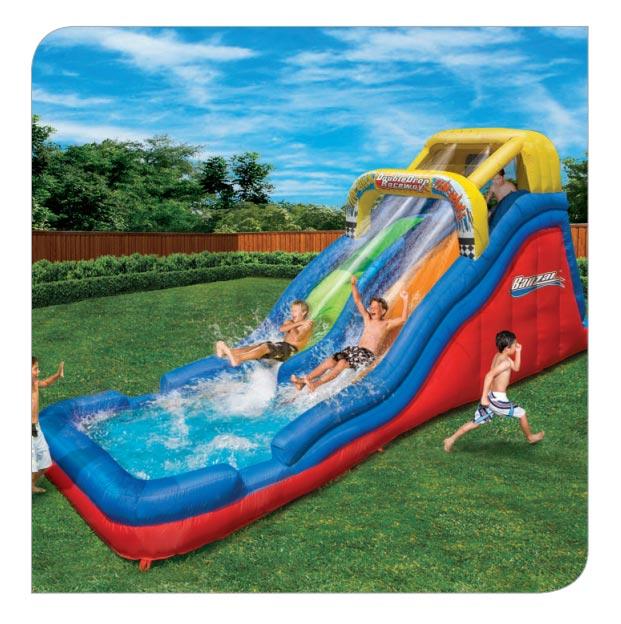 banzai falls water slide instruction manual