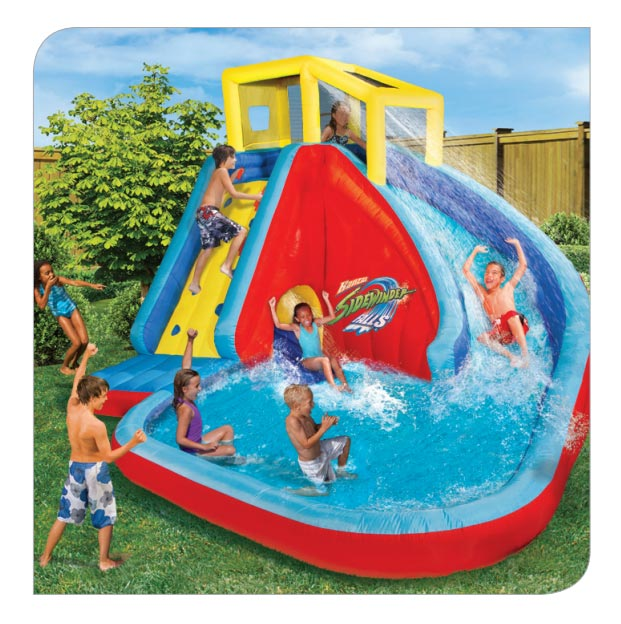 Inflatable Water Slide Az: Sidewinder Falls