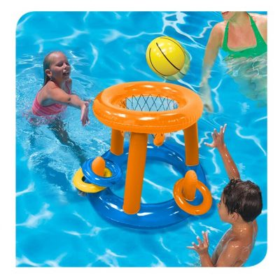 Pool Play Center Ring Toss & Hoops