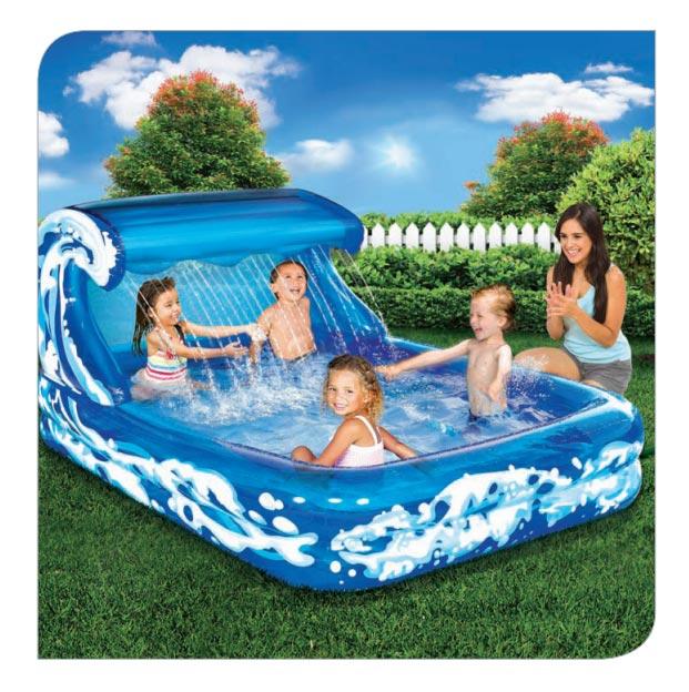 Pool Water Splash: Product Categories Pools