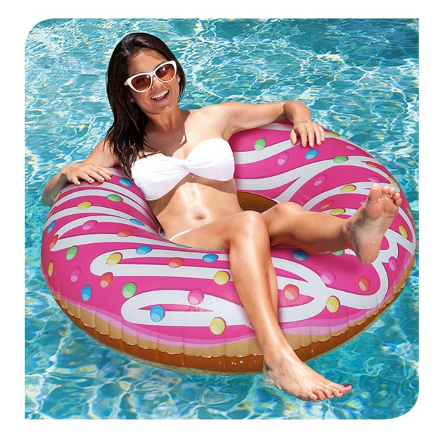 #LoungeLife Pool Floats