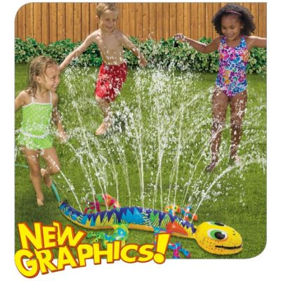 Goofy Gecko Sprinkler