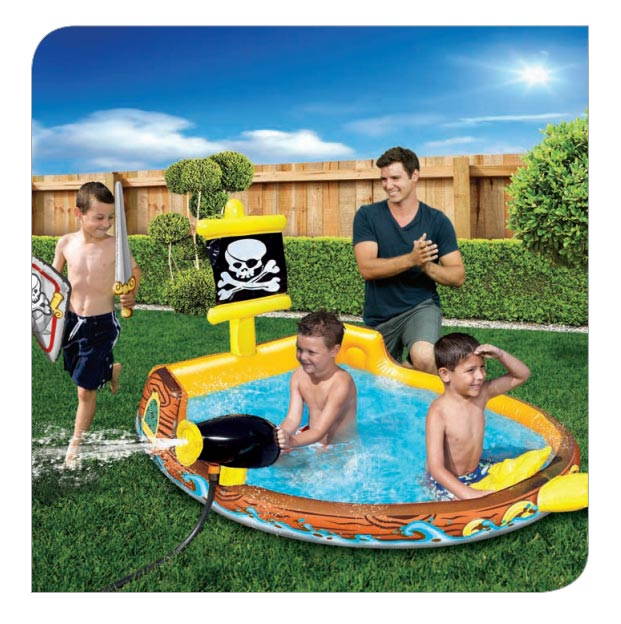 Pirate Alley Adventure Pool Banzai Backyard Fun