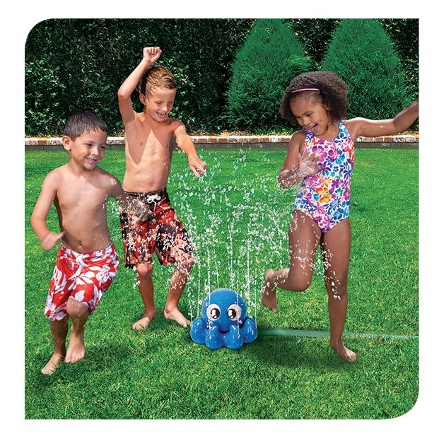 banzai wiggling water sprinkler instructions